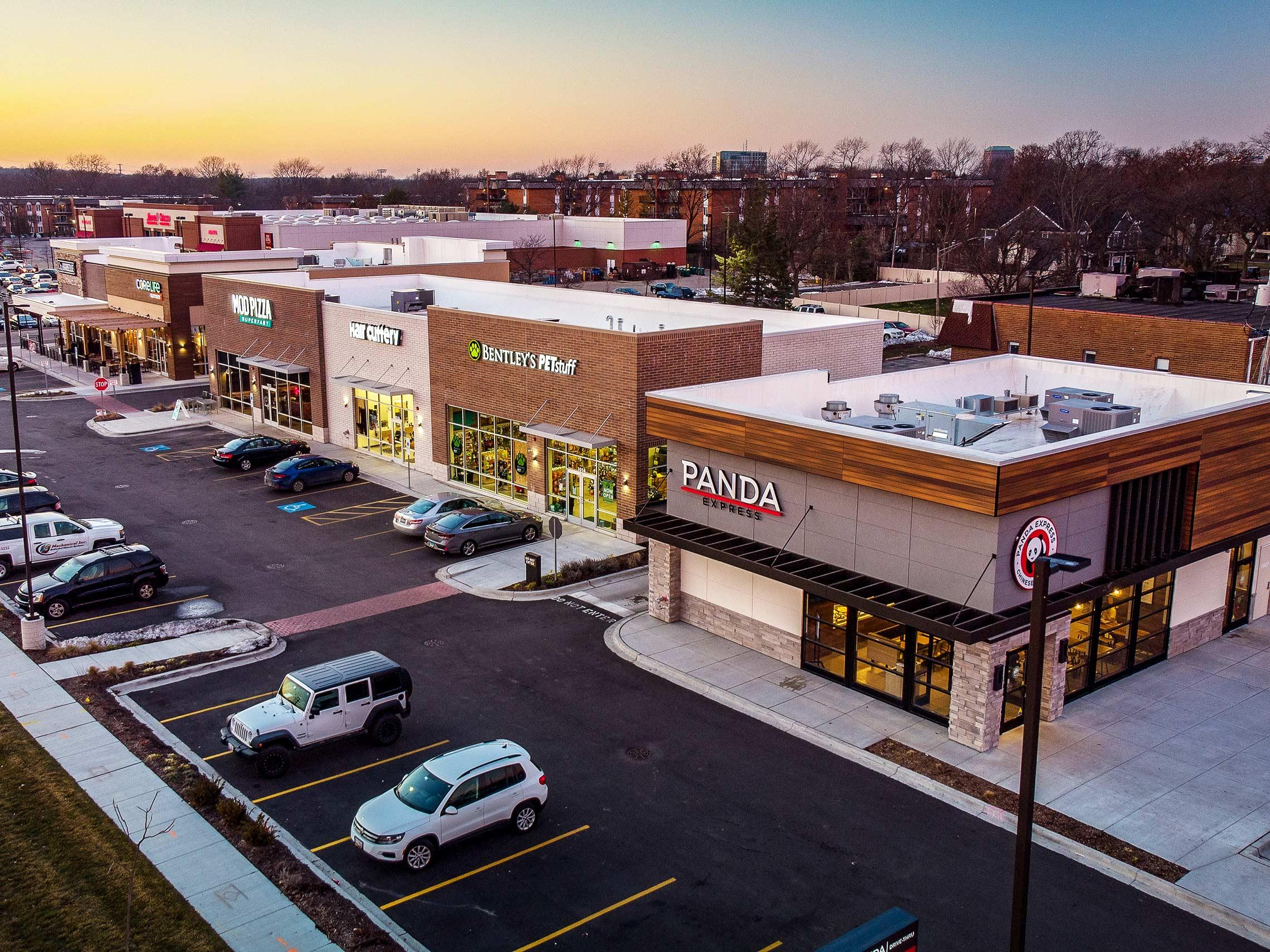 Multi-tenant Retail construction in Downers Grove, IL